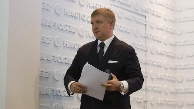 Коболєв розповів про проходження боргів і кримінальу справу проти Нафтогазу
