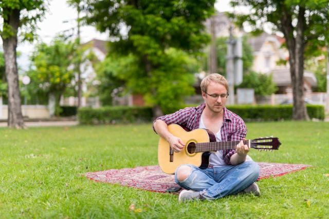 Хлопець з гітарою