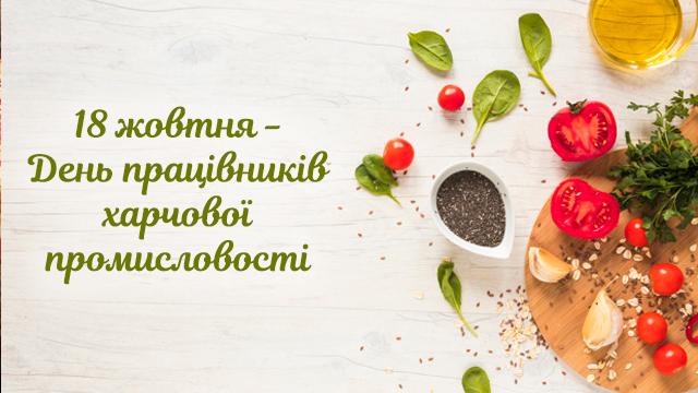 День працівника харчової промисловості: найкращі привітання в листівках та СМС