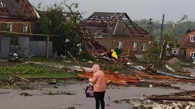Негода у Кропивницькому та на Миколаївщині залишила без даху понад 60 будівель