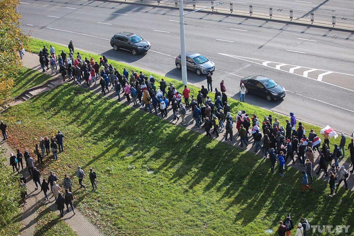 Партизанський Марш в Білорусі: перші затримання і колони спецтехніки – фото