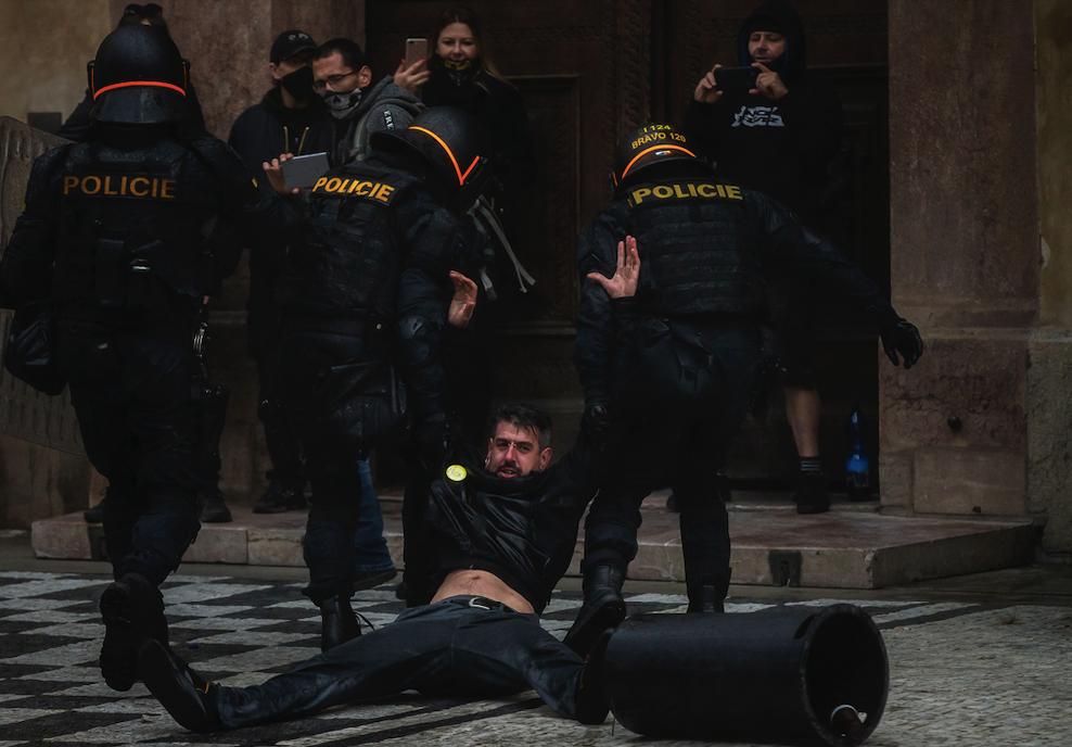 Протесты в Праге