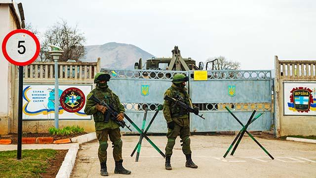 Зелені чоловічки у Криму 2014 рік
