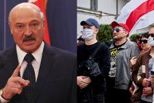 Лукашенко обвинил протестующих в росте случаев Covid-19 в Беларуси
