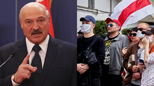 Лукашенко звинуватив протестувальників у зростанні випадків Covid-19 в Білорусі