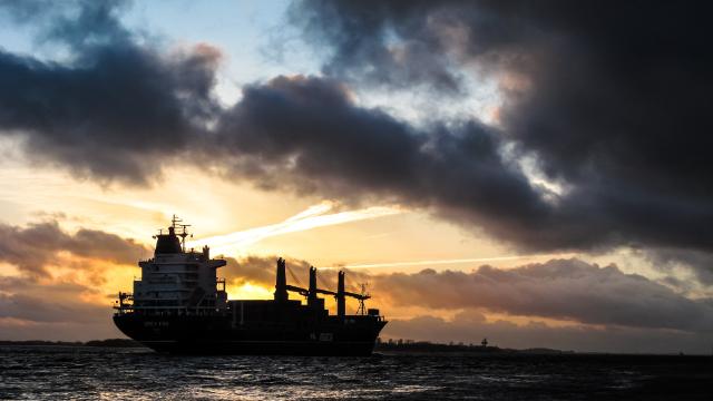В Азовском море взорвался российский танкер