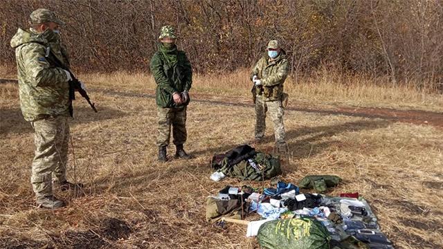 затримання росіянина на кордоні