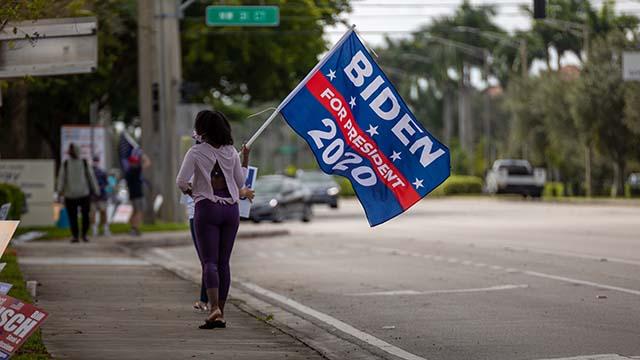Выборы США избиратель Байдена