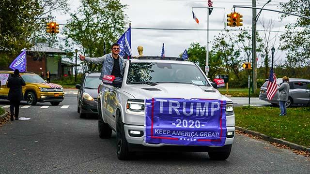 Выборы США избиратели Трампа