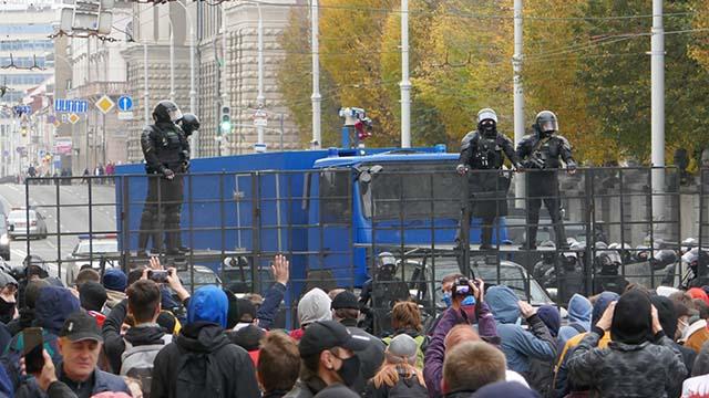 Беларусь протесты