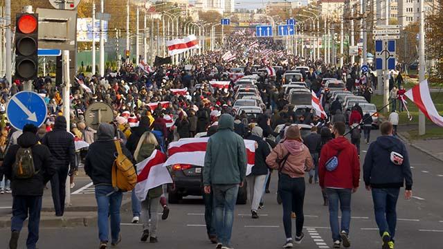 Забастовка в Беларуси