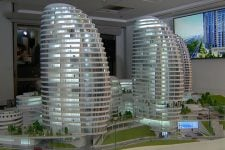 ЖК Intergal city презентовал новый архитектурный объект в Киеве