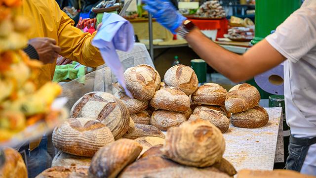 Хлеб на рынке