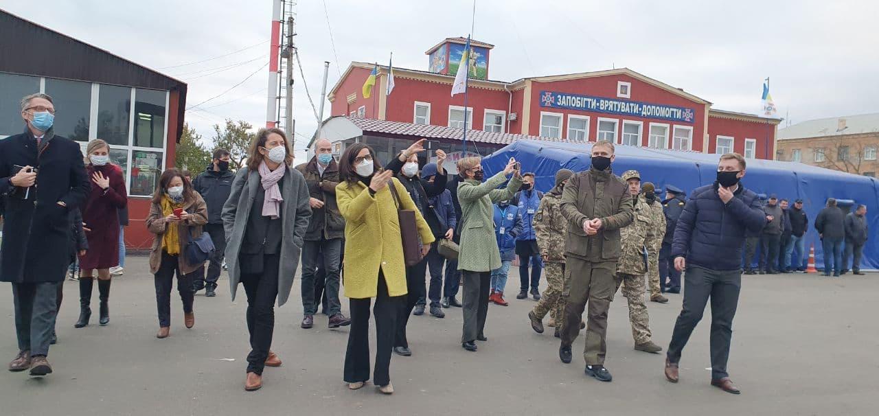 На Луганщині готують до відкриття КПВВ Щастя – як виглядатиме