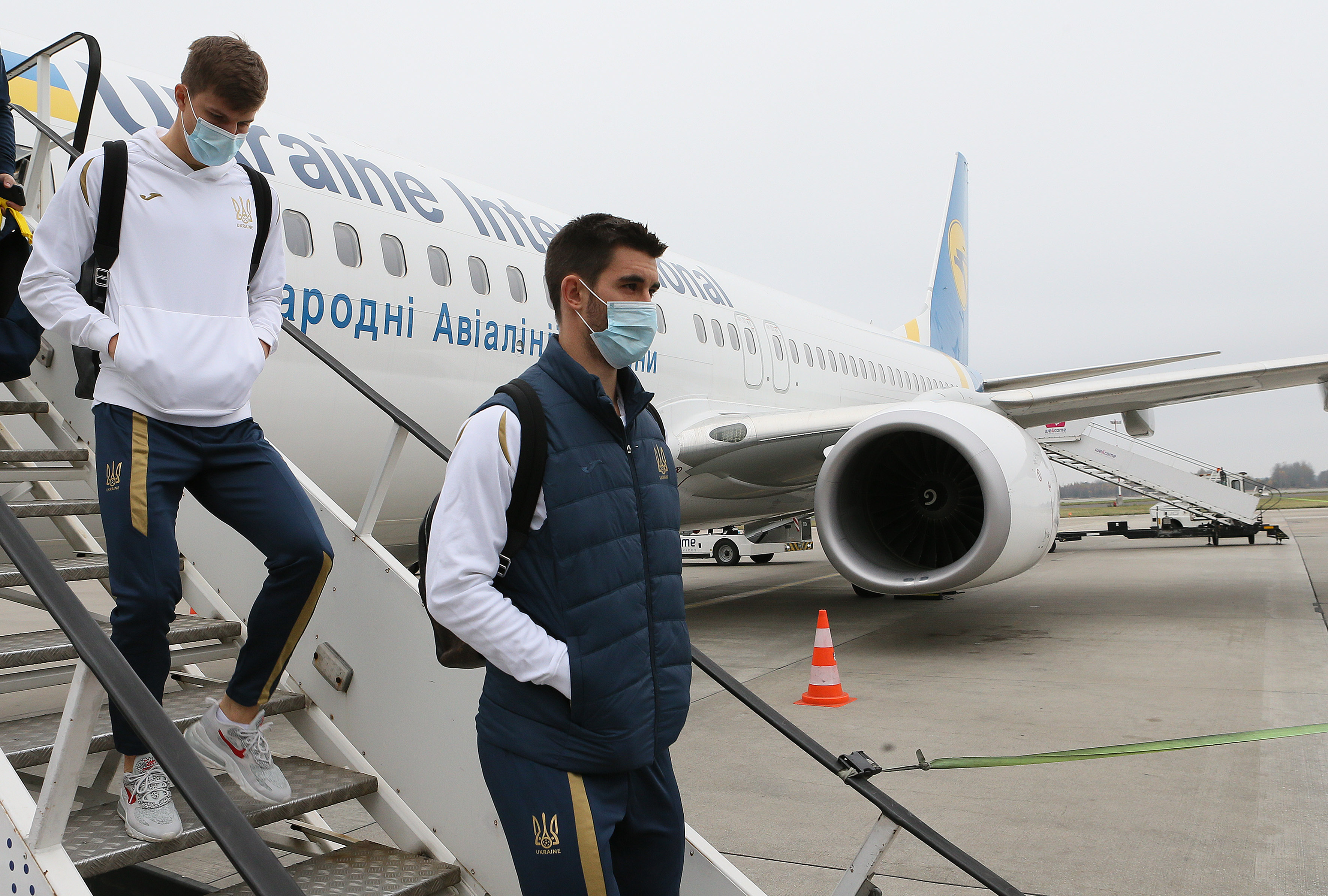Сборная Украины прилет в Польшу