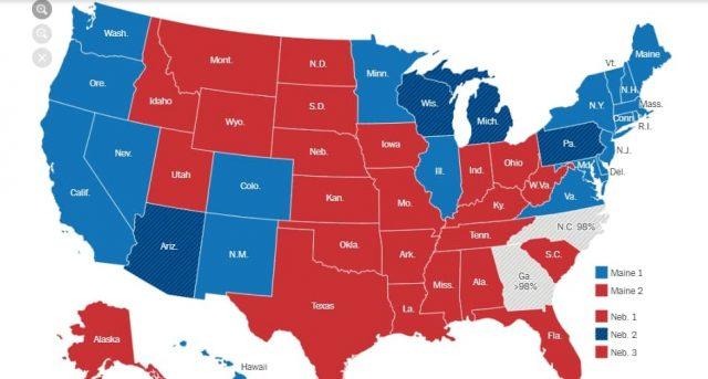 Вибори в США: Байден перемагає Трампа у ще одному штаті