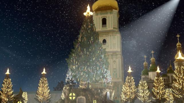 Новий рік у Києві 2021