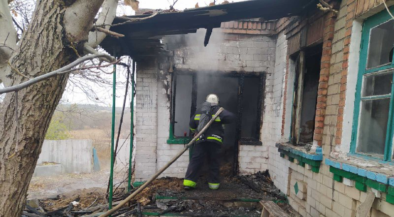 Пожежа на Кіровоградщині