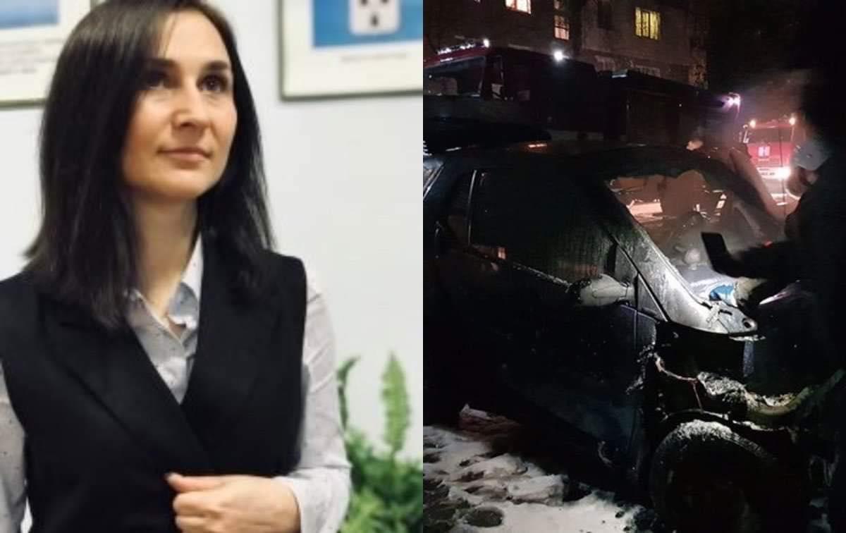 У Конотопі загорілося авто новообраного депутата, Тягнибок заявив про замах