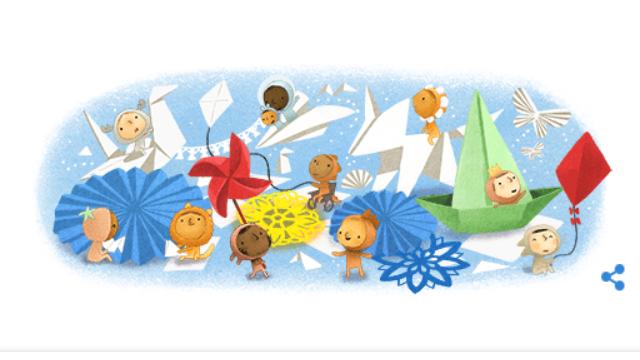 Всемирный день ребенка — Google создал праздничный дудл