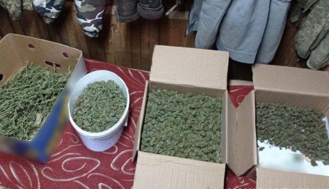 На Донеччині у чоловіка вилучили наркотики на 1 млн грн