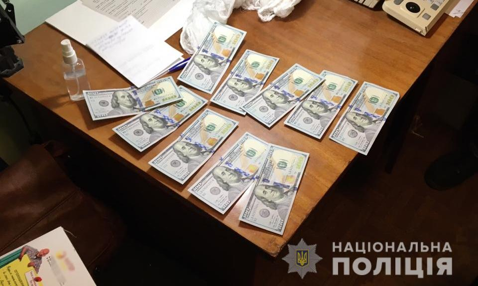 На Київщині затримали посадовця за хабар від призовника