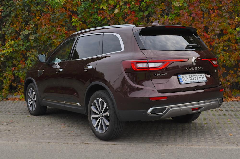 Тест-драйв Renault Koleos: знайти десять відмінностей