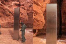 НЛО чи шанувальники Кубрика? У пустелі США знайшли металевий моноліт