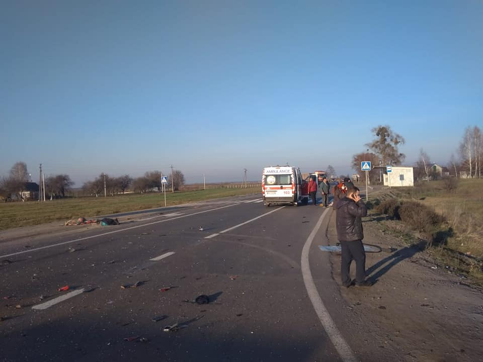 ДТП у Рівненській області: загинули матір і син