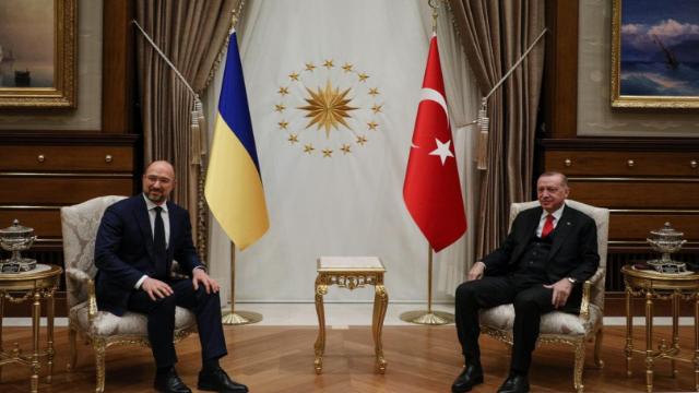 зустріч Шмигаля з президентом Туреччини