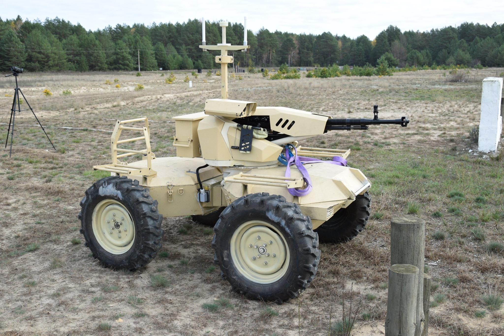 Робот Camel для армії пройшов випробування на полігоні