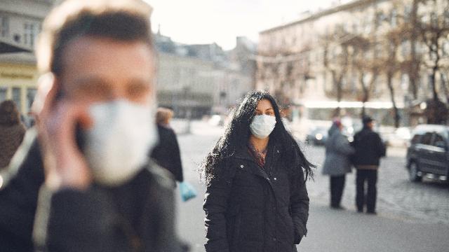 коронавірус, карантин, маска