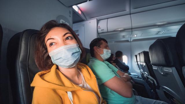 коронавірус, літак
