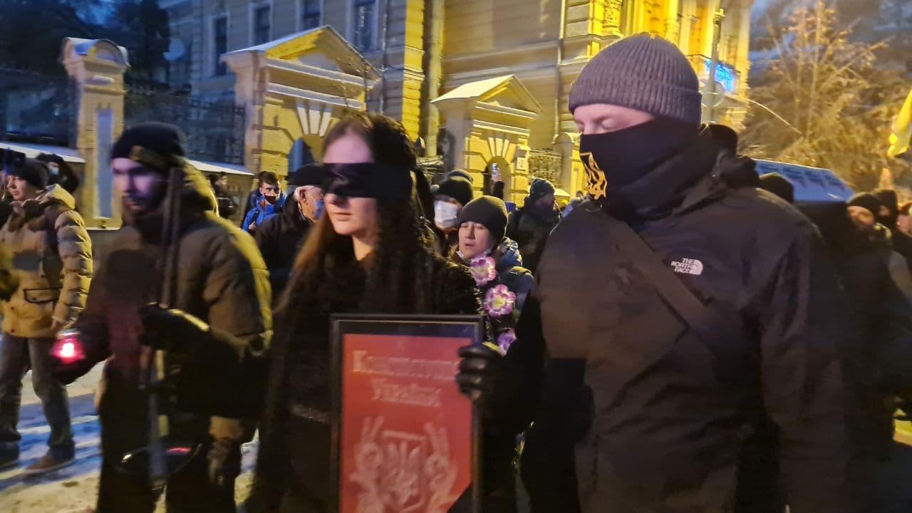 Справа Шеремета: активісти ховають правосуддя у річницю затримання Антоненка