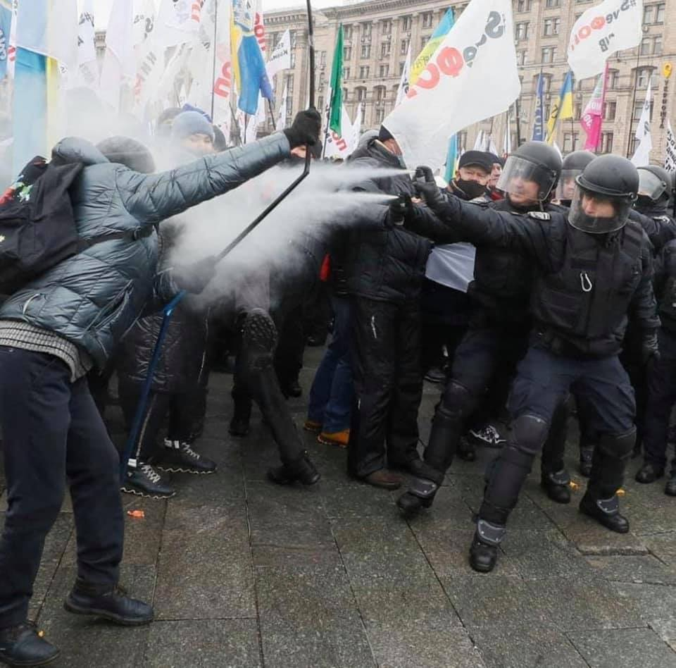 Налоговый Майдан в Киеве