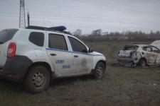 На Одещині вбили жінку-таксистку та спалили її авто