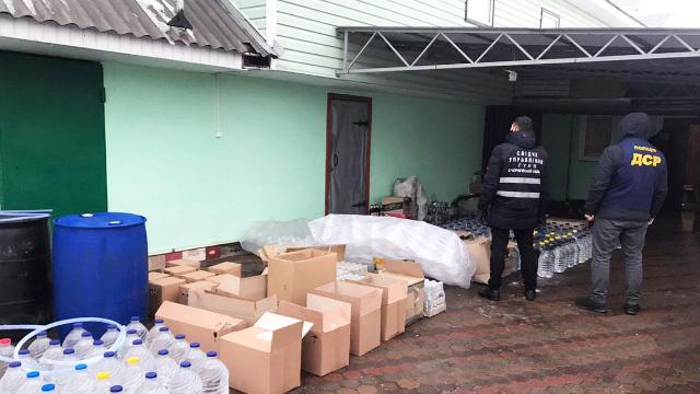 на Чернігівщині викрили фальсифікацію товарів