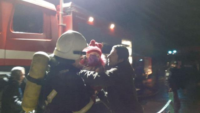 Пожежа у Кропивницькому: з багатоповерхівки евакуювали 28 людей