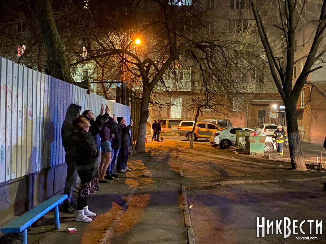 У Миколаєві через феєрверк горіло дві квартири