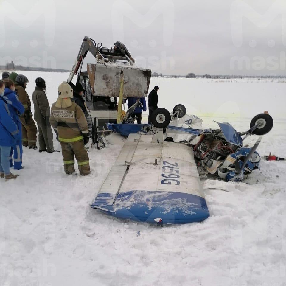 У Росії розбився приватний літак – троє лзагиблих