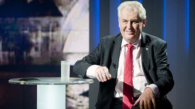 Милош Земан президент Чехии
