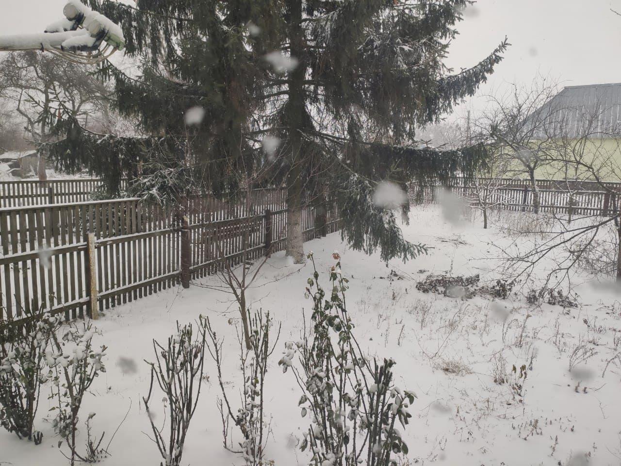 Сніг Харків