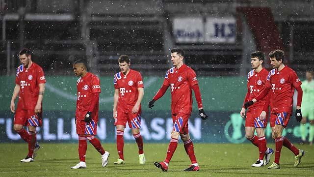 Бавария Мюнхен вылетела из Кубка Германии