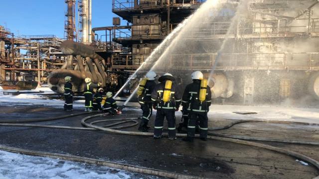 пожежа у Калуші