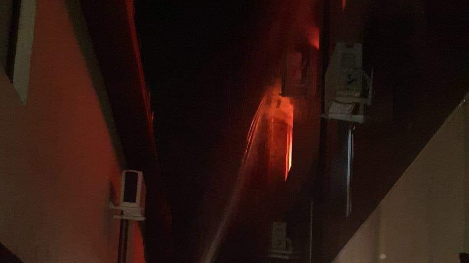 Пожежа в Одесі – горить готель