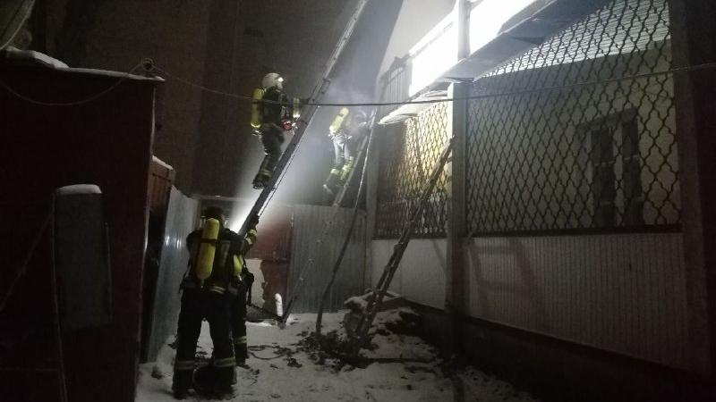 Пожежа в Одесі – горів гуртожиток юридичної академії