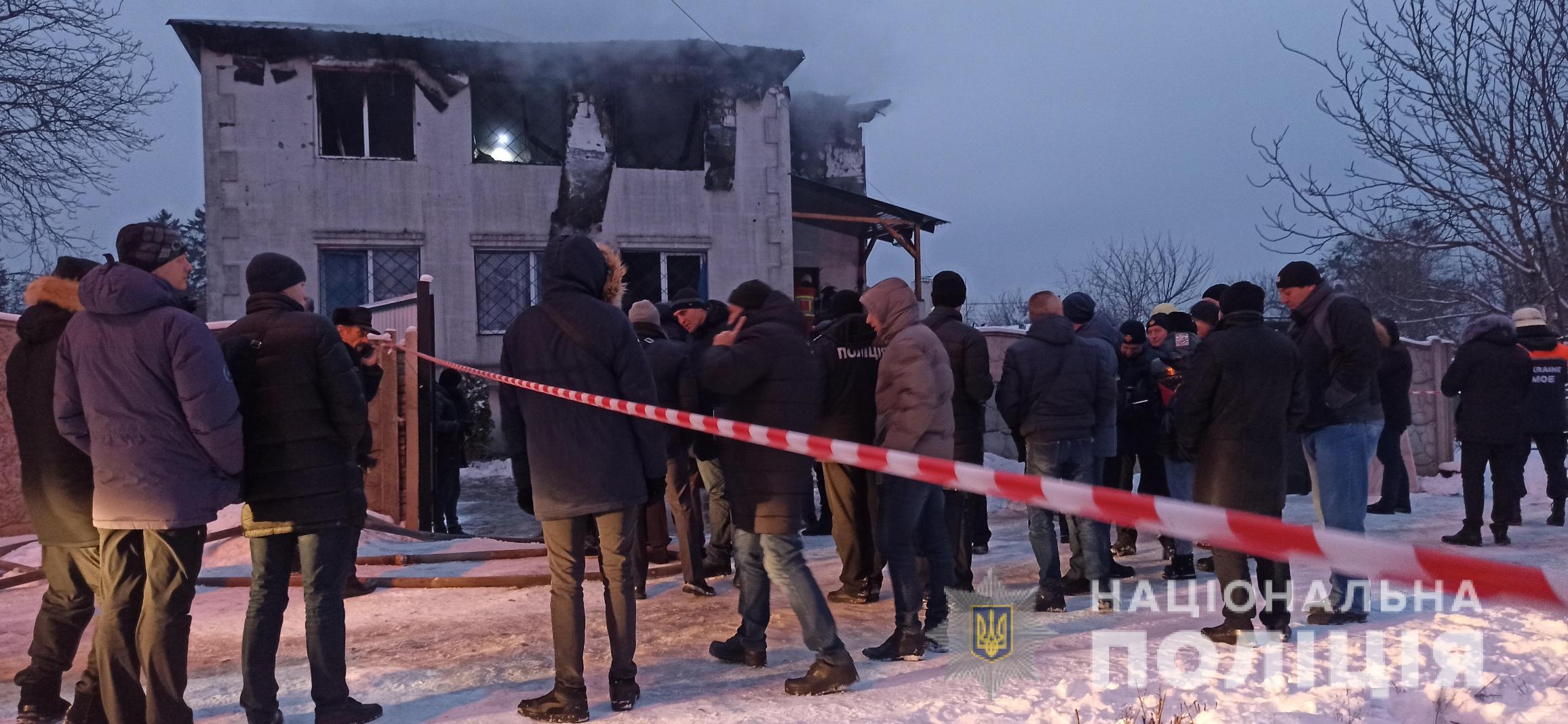 Пожежа в Харкові: керівників будинку для літніх людей забрала поліція
