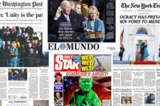 Світ прокидається: що писали світові ЗМІ про інавгурацію Джо Байдена