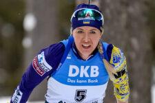 Юлія Джима завоювала срібло у спринті на етапі Кубка світу