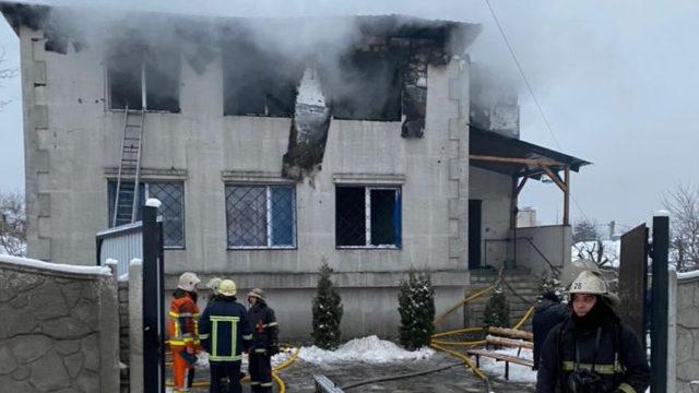 В Харькове произошел пожар в доме престарелых — 15 погибших